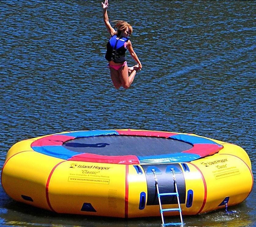 Island Hopper 15-ft. Classic Water Trampoline