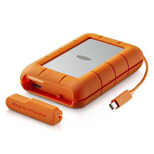 LaCie Rugged RAID Thunderbolt & USB 3.0 Mobile Hard Drive 4TB