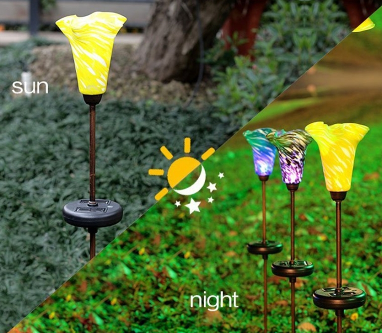 Lily Solar Garden Lights LED outdoor