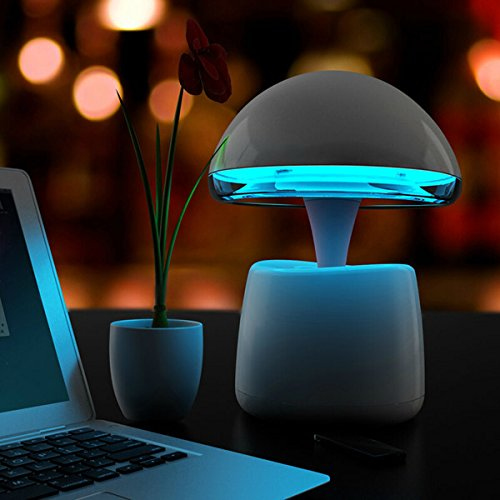 Magic Lamp Bluetooth Speakers Intelligent Alarm Clock