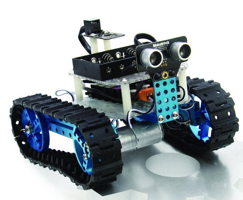 Makeblock Starter Robot Kit-blue (Bluetooth Version)