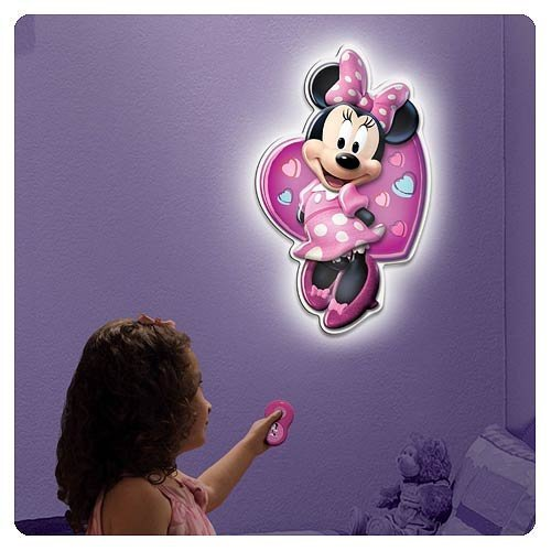 Minnie Mouse Talking Room Light