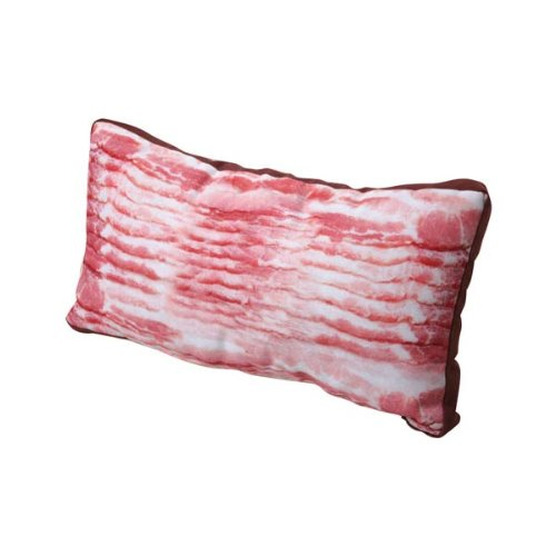 Photo Realistic Bacon Pillow - 18 X 10
