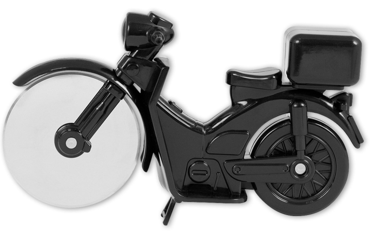 Pizza Cutter Motorbike