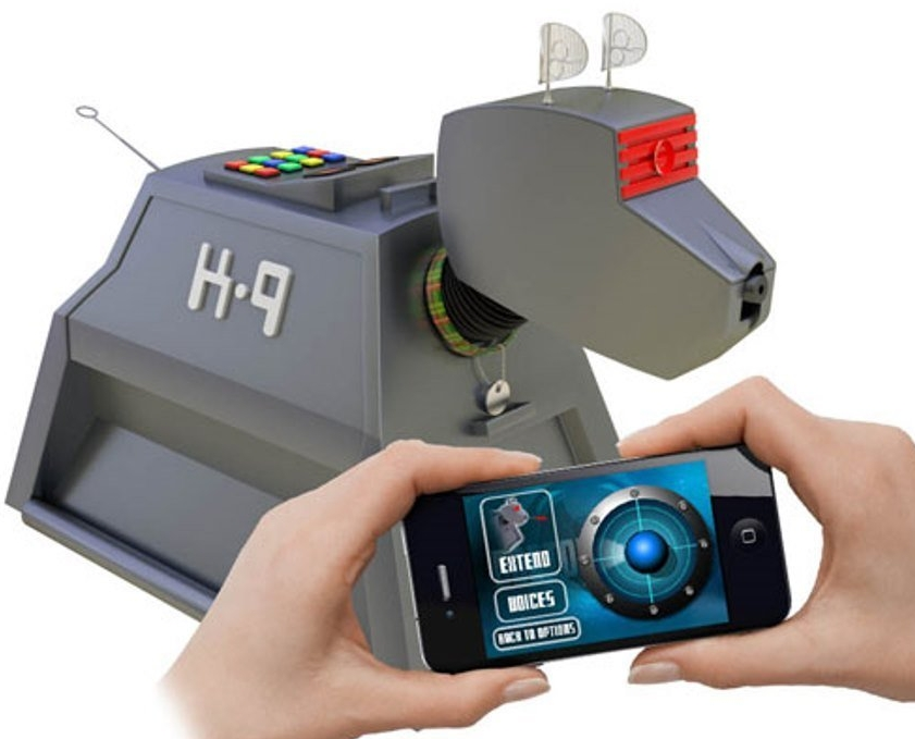Smartphone Operated Desk Remote Control Interactive K-9 Dog