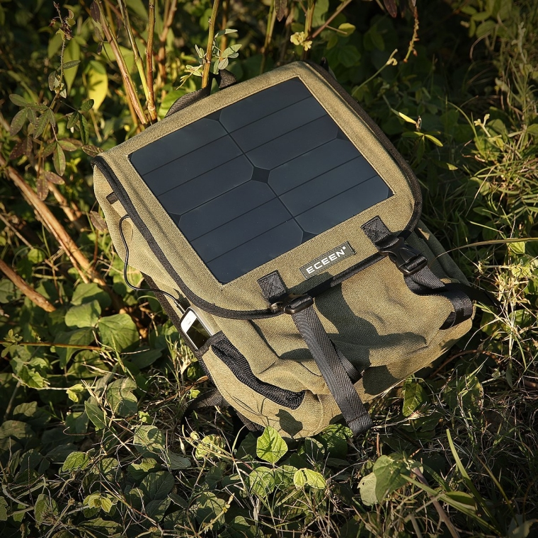 Solar backpack Solar panel bag