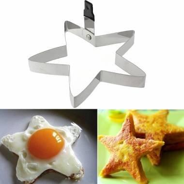 Star Shape Kitchen Fried Egg Mold Cookie Cutter
