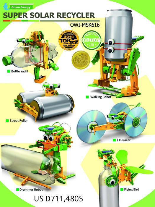 Super Solar Recycler Model