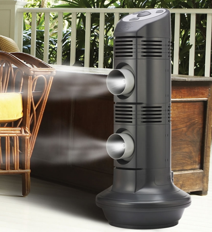 The Evaporative Mist Air Conditioner