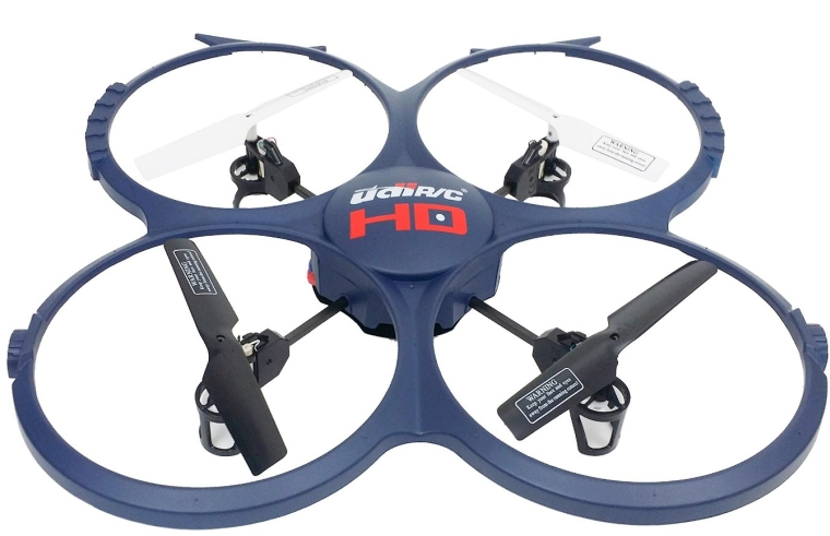 UDI 818A-1 2.4 Ghz Quadcopter Drone with HD Camera 2015 Version Bundle with extra batteries