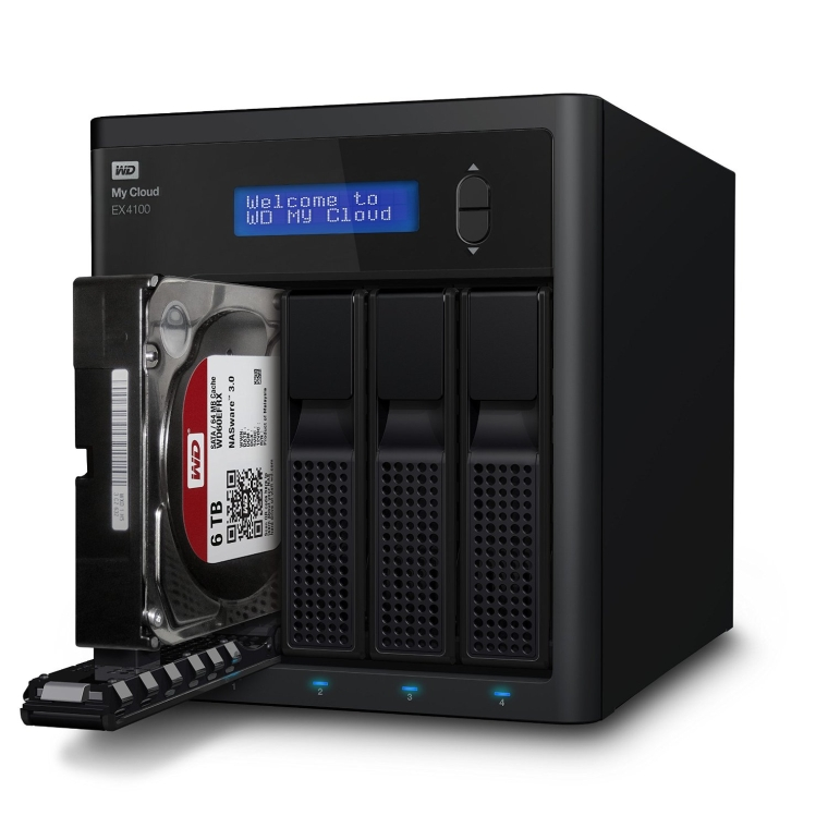 WD My Cloud Expert Series 16 TB 4-Bay Pre-ConfiguredNAS with Dual Core Processor
