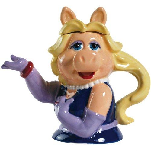 Westland Giftware Ceramic Teapot, Muppets Miss Piggy