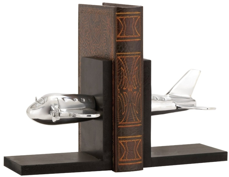 aluminum Aircraft Bookend