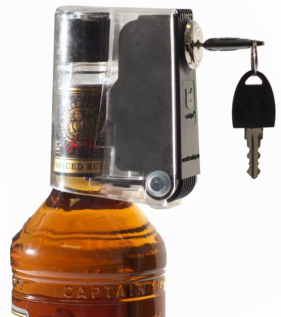 24 Pack Tantalus Wineliquor Bottle Lock Liquid Bottle Locks Keeps Hooch Out of the Wrong Hands