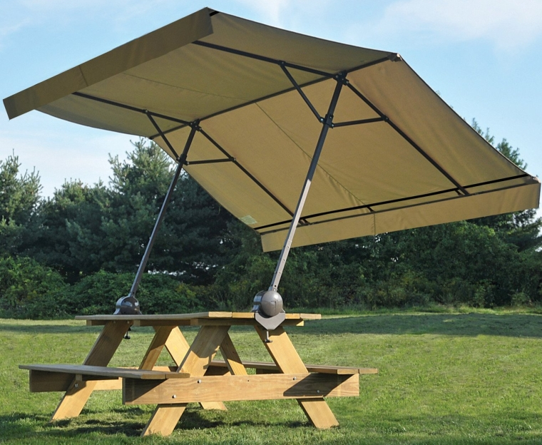 Adjustable 360 Degrees Rotatable Quick Clamp Canopy Great for Outdoor and Adapts Any Seasons