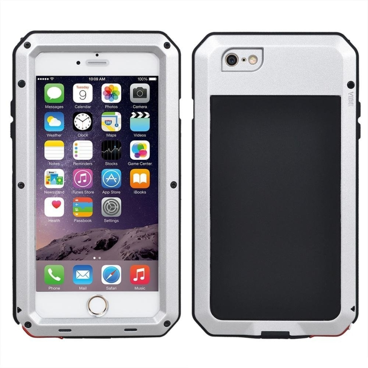 Aluminum Metal Cell Phone Protector With Touch ID Enable And WaterproofShockproofDust Proof