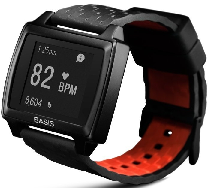 Basis Peak - Ultimate Fitness and Sleep Tracker (Matte BlackBlack)