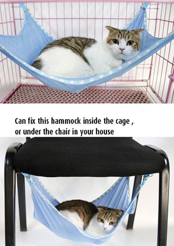 Cat Kitten Mesh Hammock