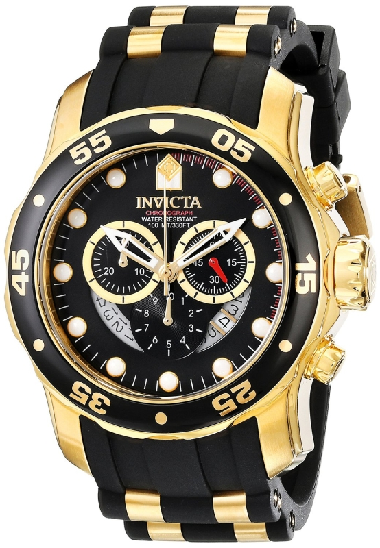 Invicta Men's Pro Diver Collection Chronograph Watch