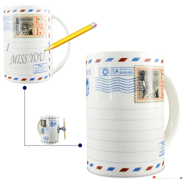 Ipow Magic Porcelain Ceramic Mug Cup