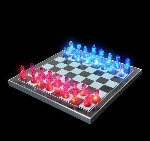 LIGHT-UP CHESS SET