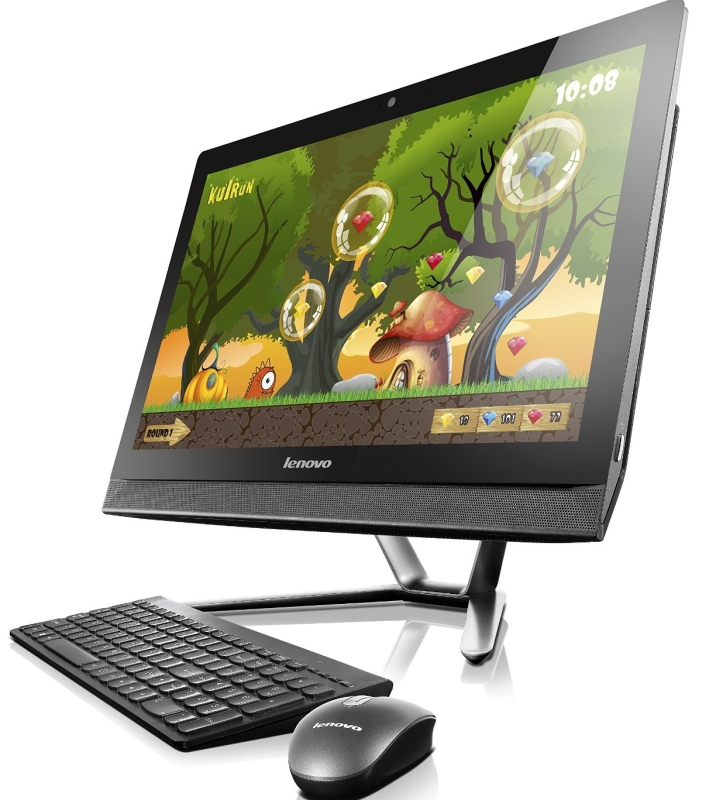Lenovo 23-Inch All-in-One Touchscreen Desktop