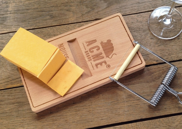 Mousetrap Cheese Set