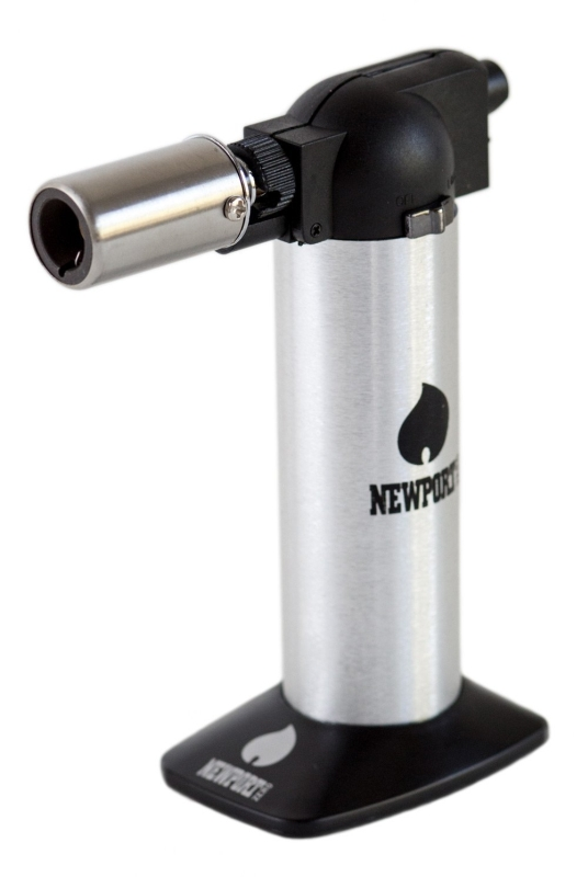 Newport Butane Torch Lighter 6 Silver
