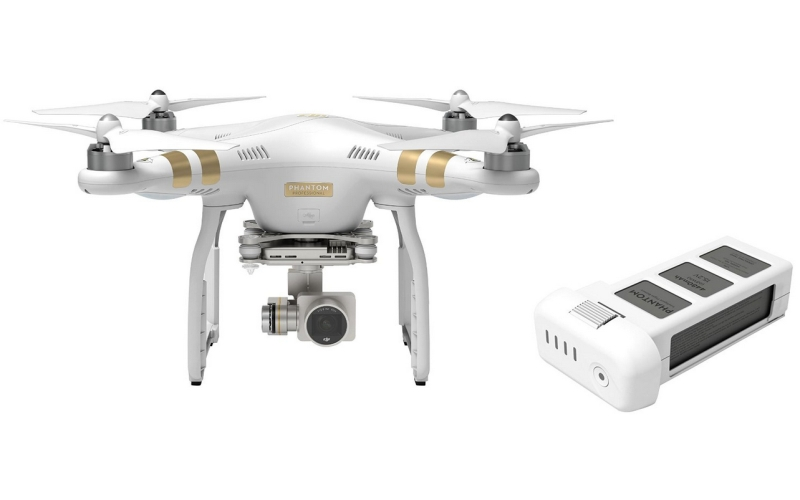Phantom 3 Advanced Quadcopter Drone Bundle with Extra Battery