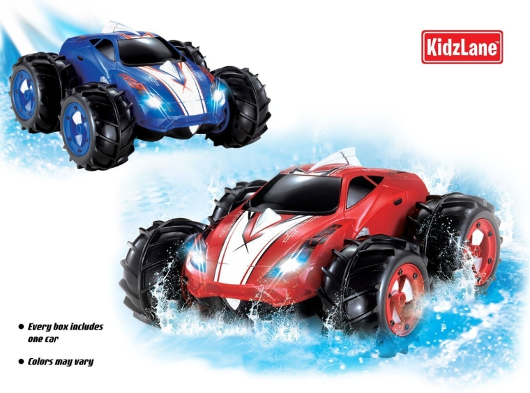 Powerful Amphibious Remote Control Car