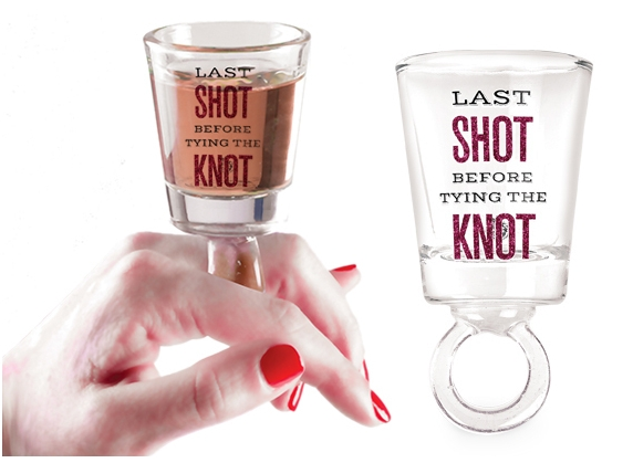 RING SHOT GLASS