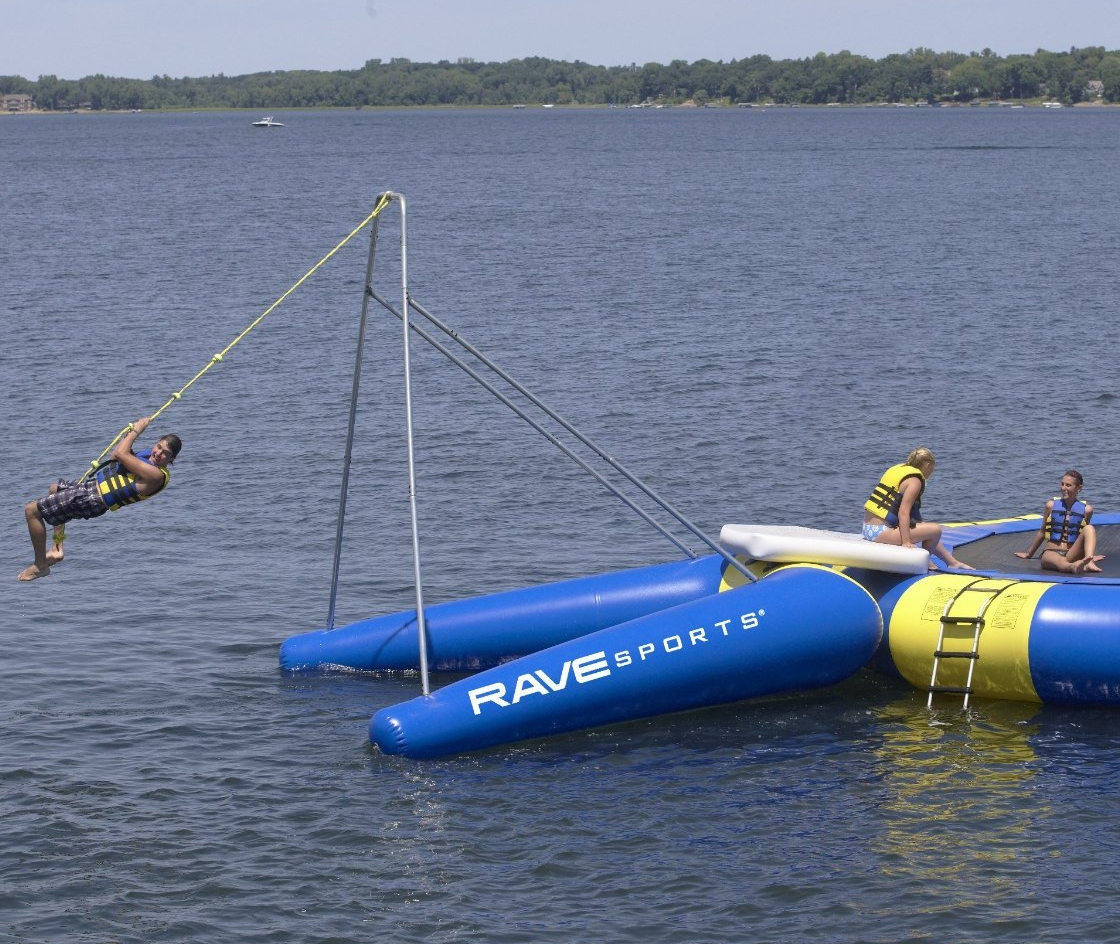 Rope Swing Water Trampoline Attachment