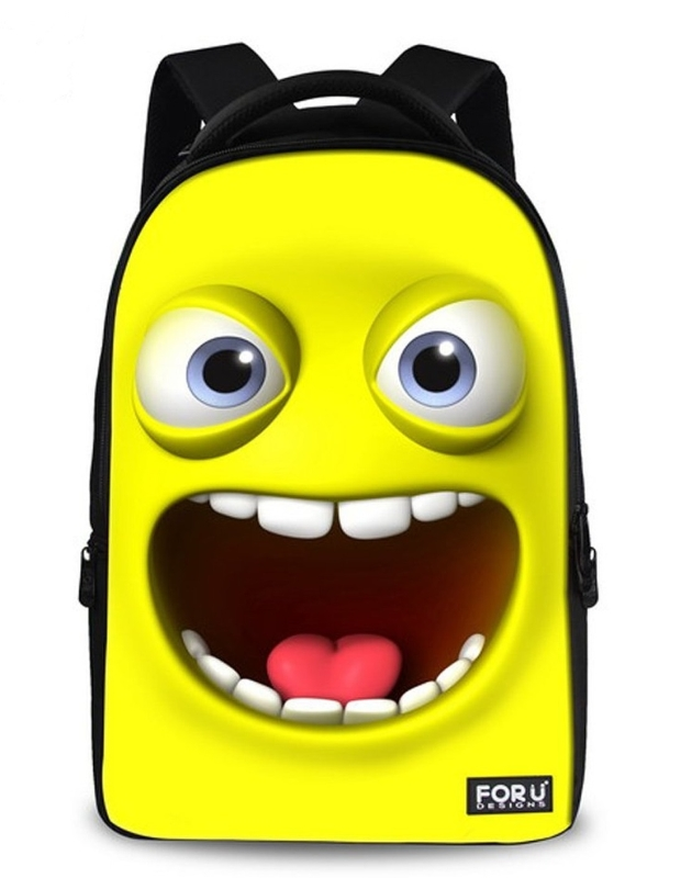 Smile Emoji Backpack