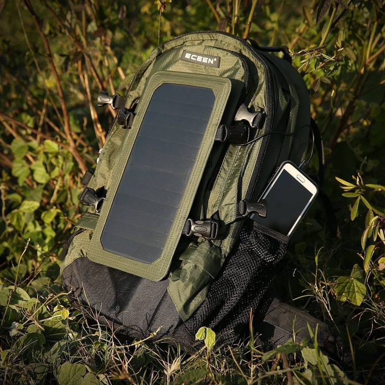 Solar Backpack Solar Panel Bag Solar Charger Backup
