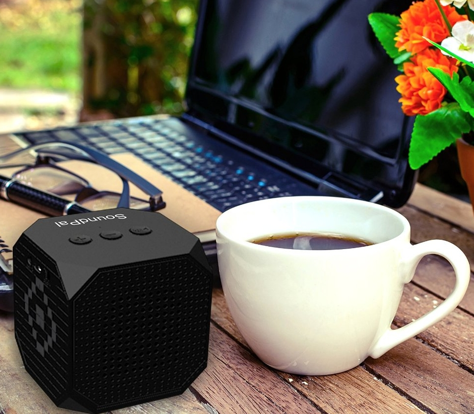 SoundPal Cube F1 5 Watt Bluetooth Speaker