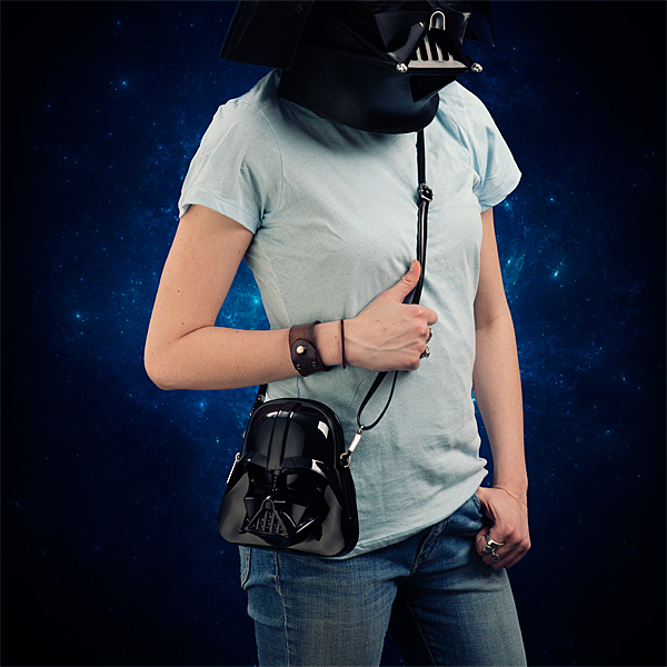 Star Wars Darth Vader Molded Crossbody Purse