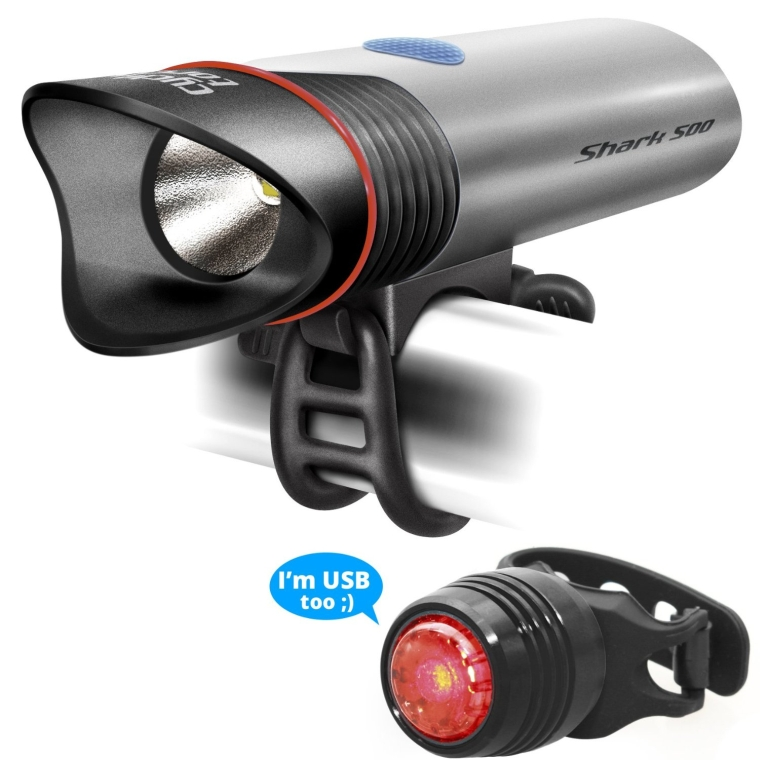 SuperBright Rechargeable Bike Light