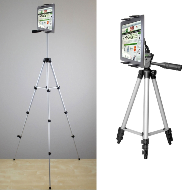 Tablet TRIPOD Video Camera Selfie Photo