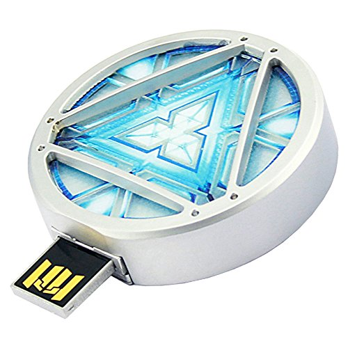 The Avenger Iron Man ARC REACTOR (32GB) USB LED Light Flash Driver