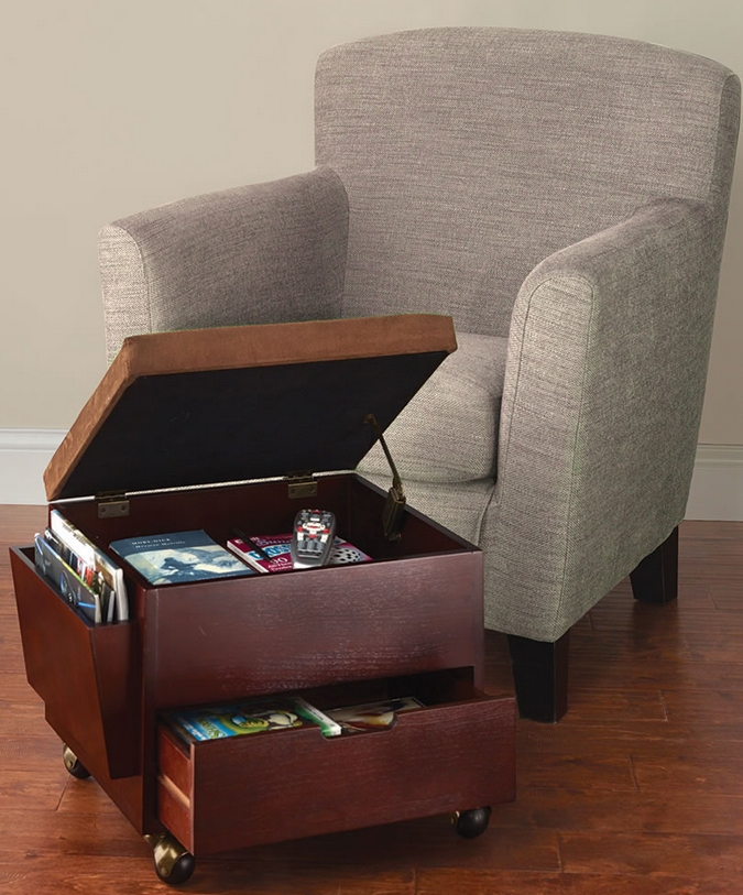 The Rolling Storage Ottoman