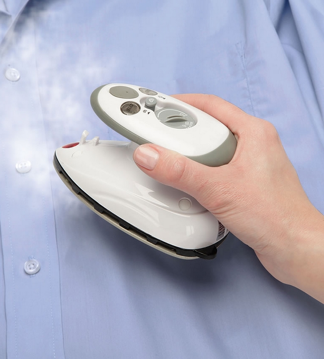 The World's Smallest Travel Steam Iron