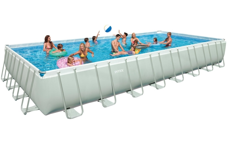 Ultra Frame Rectangular Swimming Pool Set