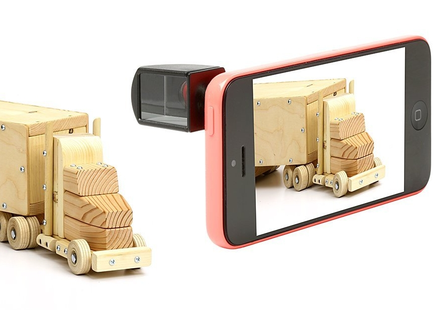 Universal Periscope Lens for ALL Smartphones Cameras - Magnetic, Rotates