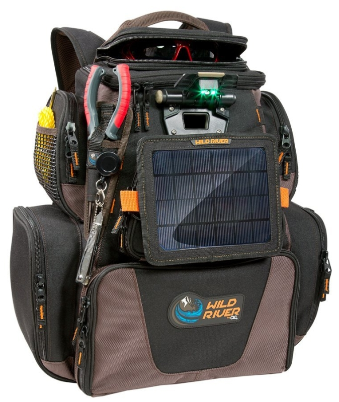 Wild River Tackle Tek Nomad XP Lighted Backpack wUSB Charging System