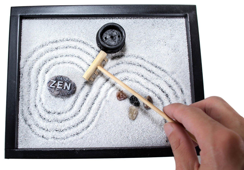 Zen Garden Meditation Kit 7 Gadgets