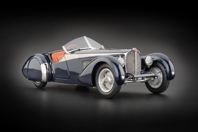 1938 Bugatti 57 SC Corsica Roadster Blue With Crocodile Leather Interior