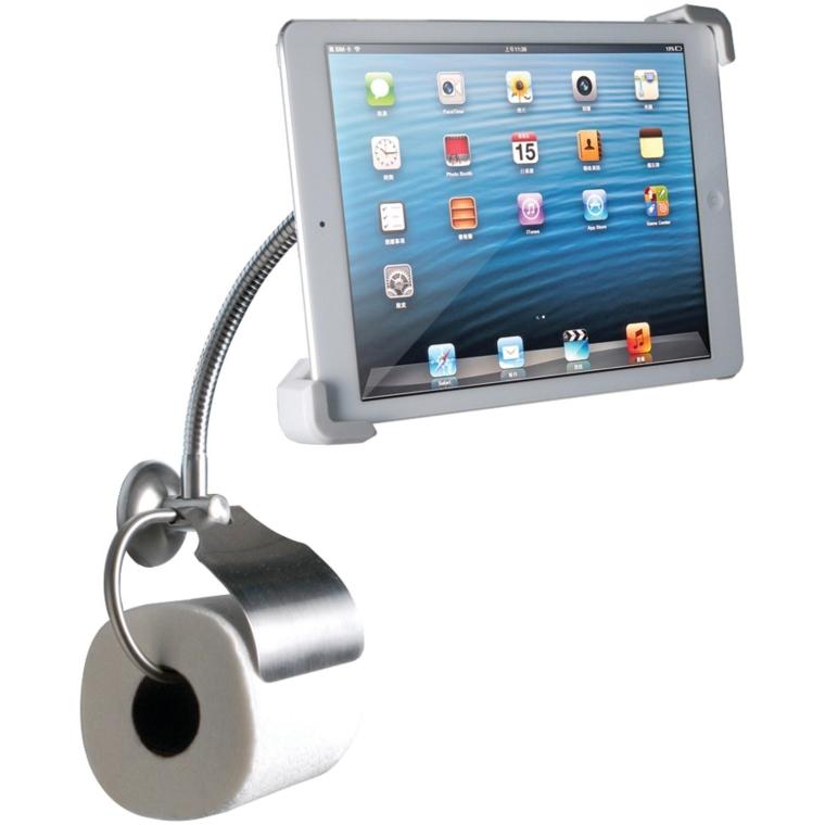 Digital Wall-Mount Bathroom Stand