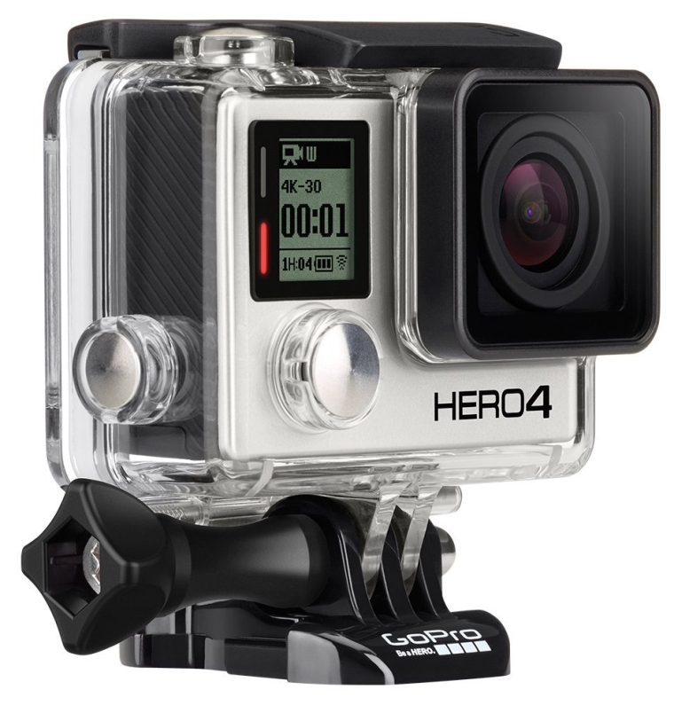 GoPro HERO4 BLACK with LCD Touch BacPac
