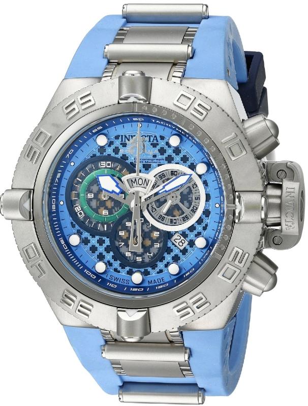 Invicta Men's 10979 Subaqua Analog Display Swiss Quartz Two Tone Watch