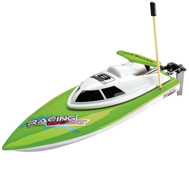 Kids Remote Controlled High-Speed Racing Boat